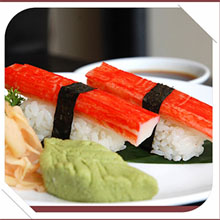 how to prepare crab sticks for sushi
